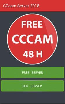 Servidor cccam gratuito 2018 Poster