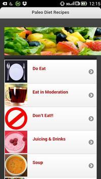 Paleo Diet Recipes apk screenshot