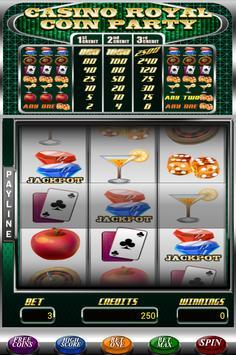 Casino Royal Coin Party screenshot 2