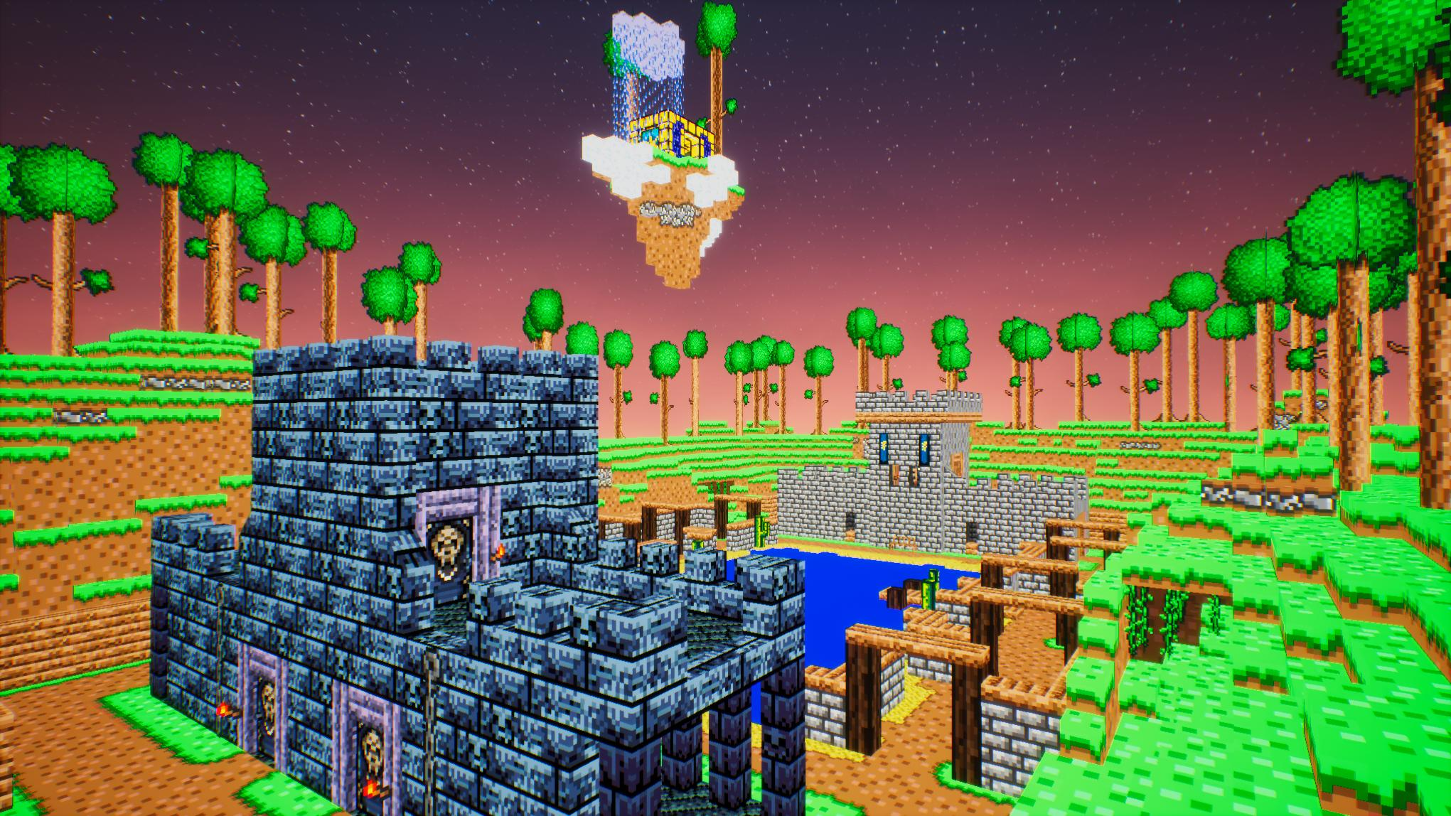 World of Terraria in 3D for Android - APK Download
