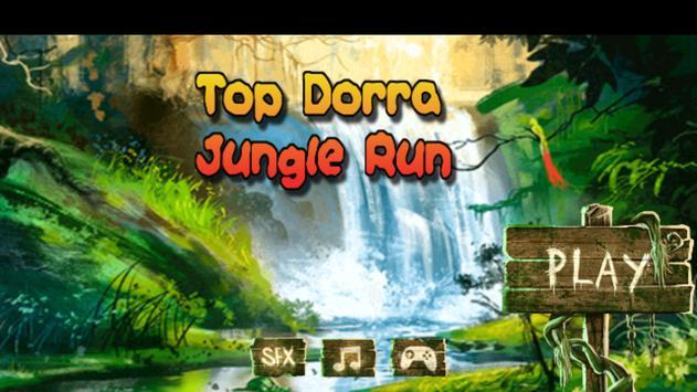 Top Dorra Jungle Run 2D poster