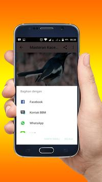 Masteran Kacer Variasi Lengkap screenshot 3