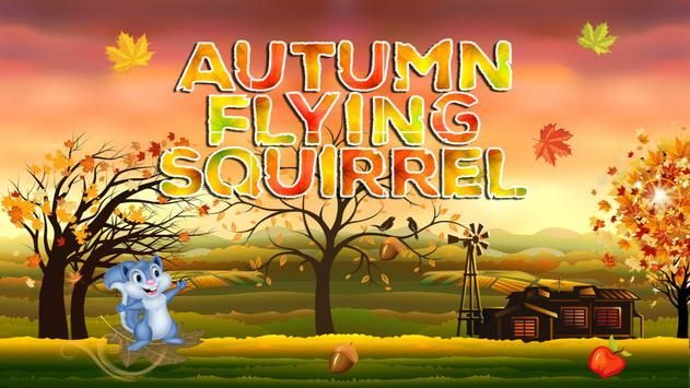 Autumn Flying Squirrel poster