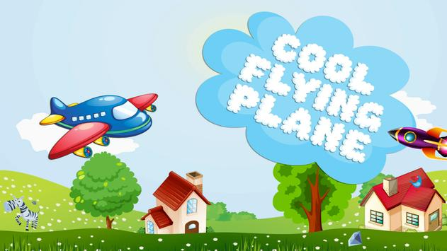 Cool Flying Plane poster