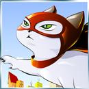 Superhero Flying Cat APK
