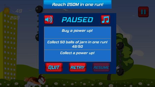 Superhero Flying Cat screenshot 4