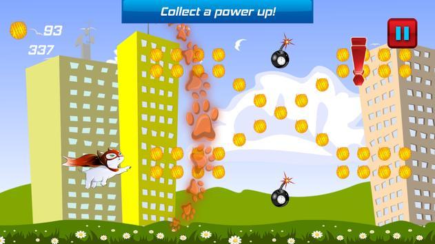 Superhero Flying Cat screenshot 5
