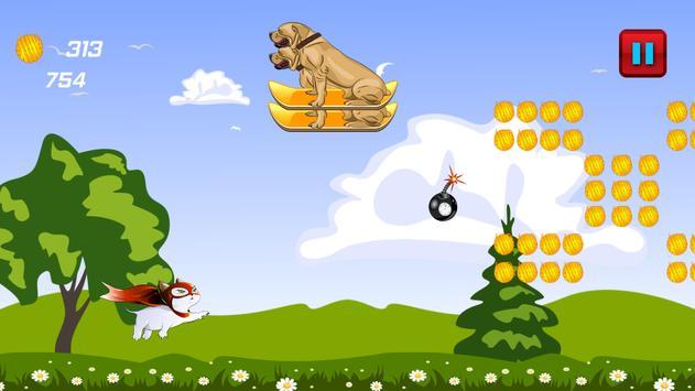 Superhero Flying Cat screenshot 6