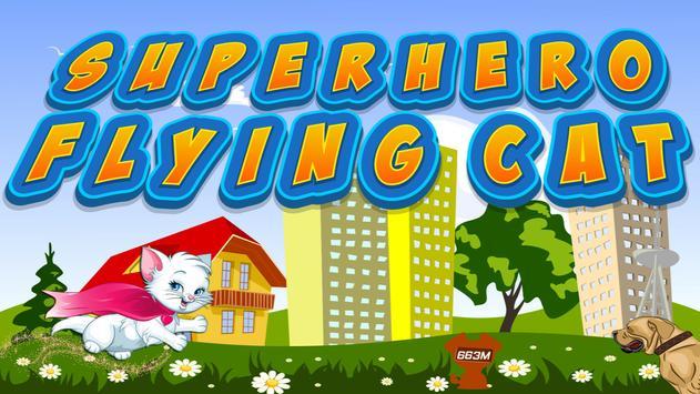 Superhero Flying Cat screenshot 8
