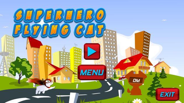 Superhero Flying Cat screenshot 9