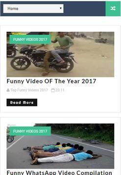 Top Funny Videos Latest 2017 screenshot 1