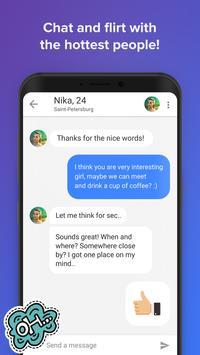 Topface – знакомства и общение скриншот приложения
