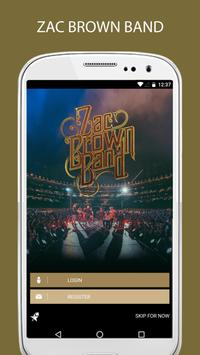 Official Zac Brown Band poster