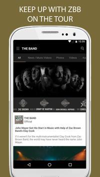 Official Zac Brown Band screenshot 1
