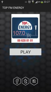 TOP FM ENERGY poster