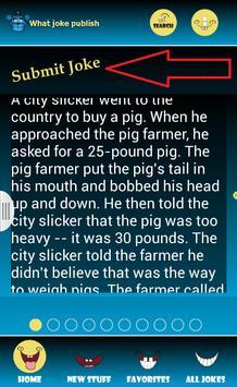 What joke Publish apk screenshot