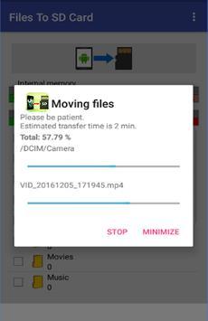 Files To SD Card Pro screenshot 1