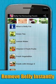 Belly Fat Removing Foods apk screenshot