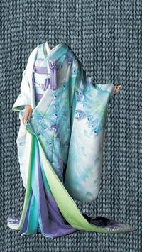 Kimono Photo Montage poster