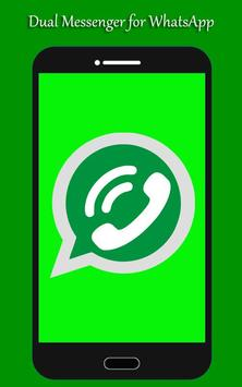 Dual messenger for whatsapp скриншот 1