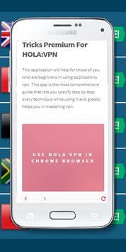 ... Tricks Premium For HOLA:VPN apk screenshot ...