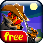 Cowboy Pixel Tower FREE icon