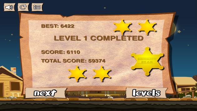 Cowboy Pixel Tower FREE apk screenshot