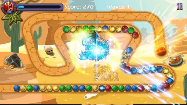 Marble Crusher Deluxe screenshot 3