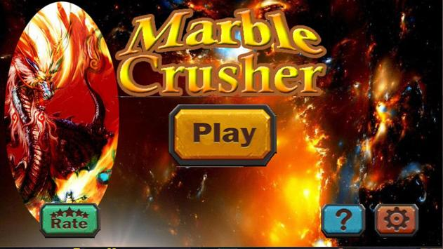 Marble Crusher Deluxe Affiche
