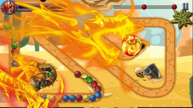 Marble Crusher Deluxe screenshot 1