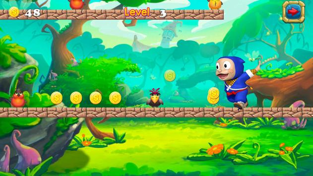 Super Hattori Run ninja Game screenshot 3