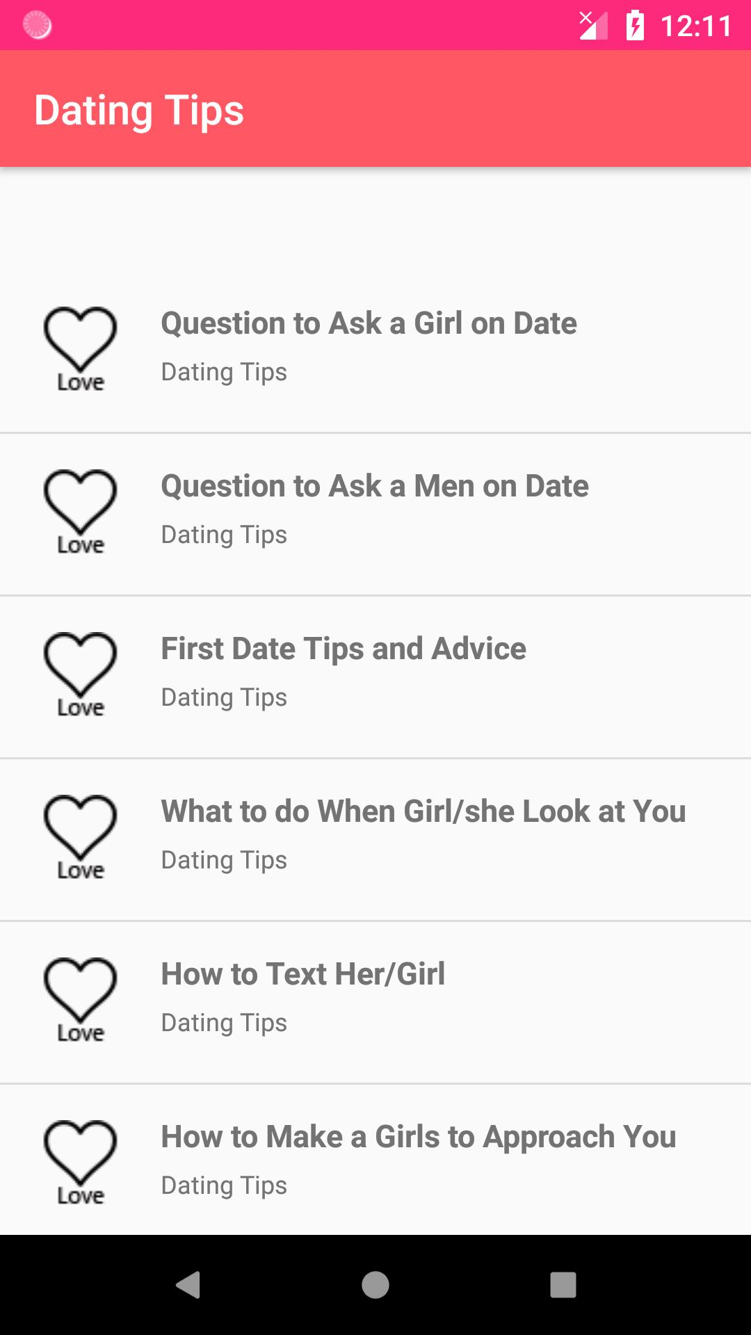 Dating Tips - Signs a Girl Likes You for Android - APK Download