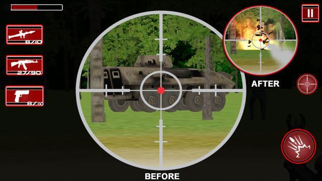 Commando Adventure Sniper 3D poster