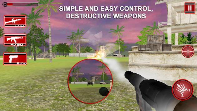 Commando Adventure Sniper 3D screenshot 1