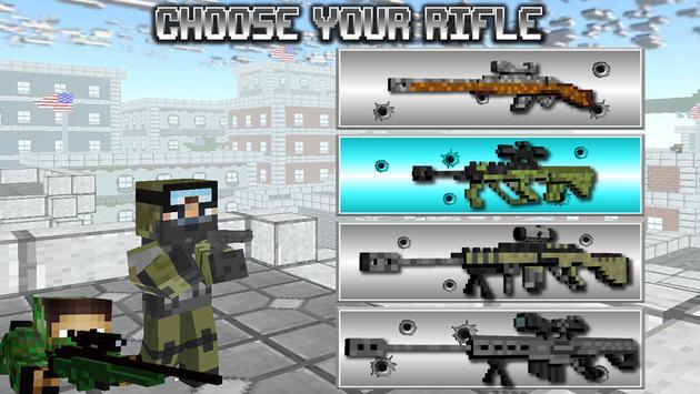 American Block Sniper Survival 海報