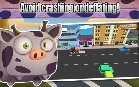 Alien Cow Balloon Escape screenshot 12