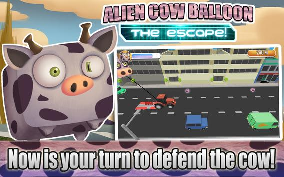 Alien Cow Balloon Escape screenshot 8