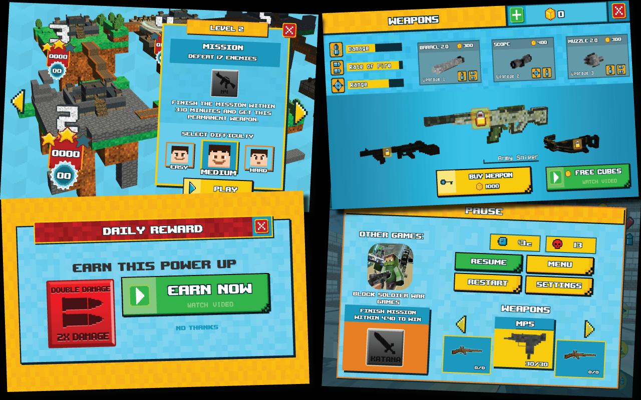 Block City Wars: Pixel Shooter with Battle Royale - Apps ...