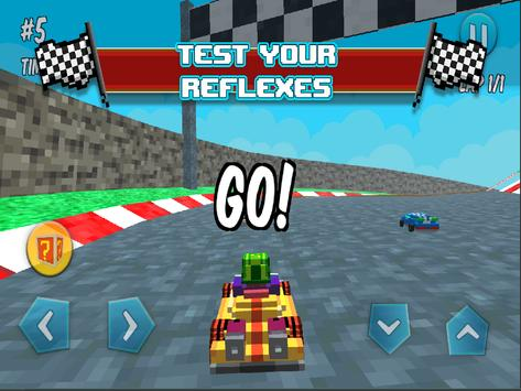 Blocky Fast Fury apk screenshot