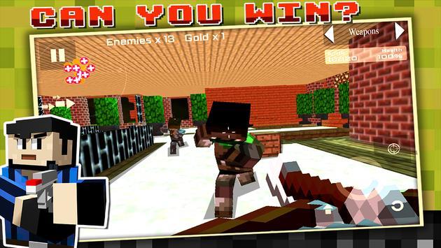 Block Gun Survival Games screenshot 11