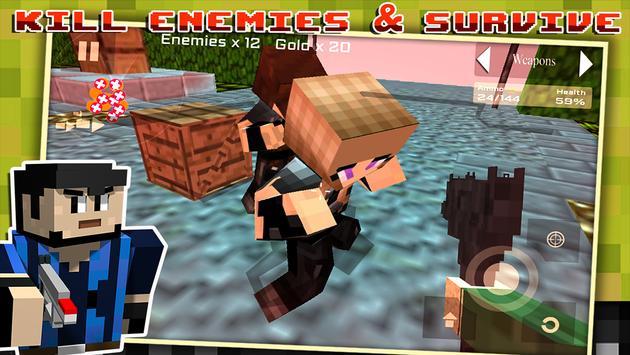 Block Gun Survival Games screenshot 12