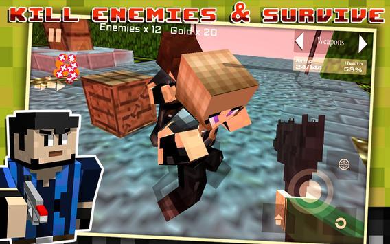 Block Gun Survival Games screenshot 7