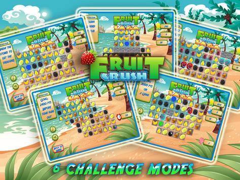 Fruit Crush Mania - Swiped screenshot 3