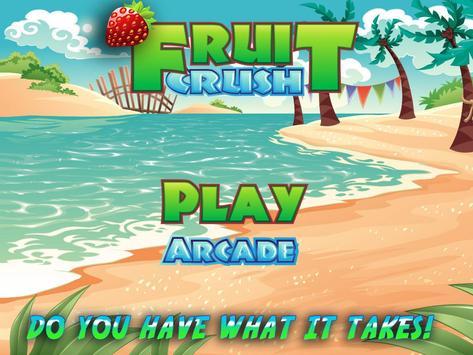 Fruit Crush Mania - Swiped poster