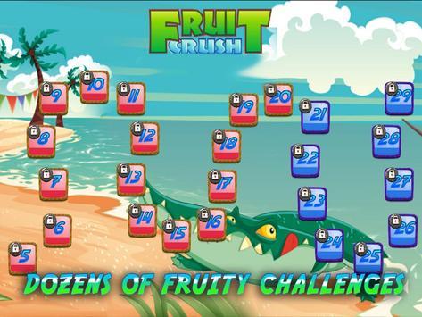 Fruit Crush Mania - Swiped screenshot 1
