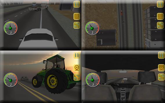 Off Road City Bus Simulator 3D screenshot 23