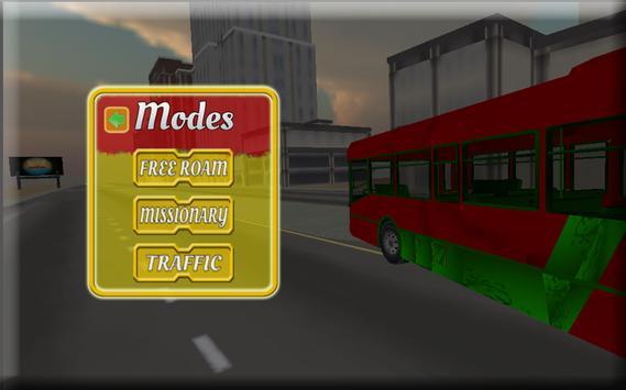 Off Road City Bus Simulator 3D screenshot 5