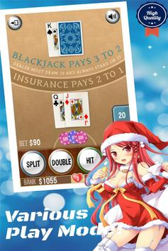 BlackJack Vegas 21 Free Cards poster