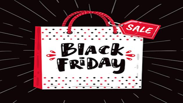 Black Friday Greeting Cards poster