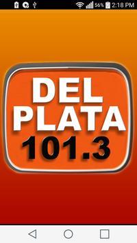 Radio Del Plata  FM 101.3 poster